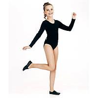 Детский купальник для танцев, черный (123003, 123004), Smil (Смил) 104 (4 года) р. Черный