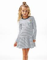 """Детское платье для девочки """"Вторая Одежда"""" (120214,120215), Smil 92 (2 года) р. Полоска"""