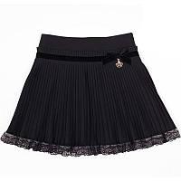 Нарядная юбка для девочки (1283), ТМ MONE (ТМ Моне) 152 (12 лет) р. Черный