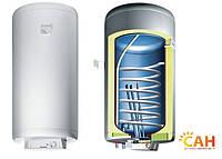 Бойлер косвенного нагрева объемом 120 литров с двумя теплообменниками