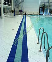 Антискользящий модульный ковер-решетка «Гидро» для бассейнов и влажных помещений купить грязезащитный ковер