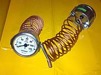 """Термометр металлический Ф-60 мм. / 120""""С / 2-метра .Производство Турция PAKKENS"""