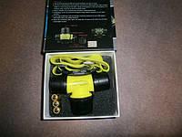 Налобный фонарь Bailong BL-6800, подводный, на батарейках, фото 1