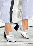 !Туфли кожа серый лак Loft 7486-28, фото 4