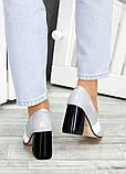 !Туфли кожа серый лак Loft 7486-28, фото 6