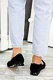 Туфли черная замша Volna 7488-28, фото 5