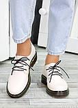 Туфли оксфорды беж кожа 7498-28, фото 3