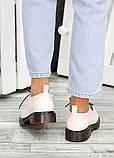 Туфли оксфорды беж кожа 7498-28, фото 5