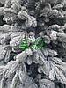 Ель заснеженная 2,5 м литая искусственная Вип Роял |ЛИТА Ковалівська засніжена, фото 4
