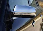 Audi A6 C4 1994-1997 рр. Накладки на дзеркала (нерж.)