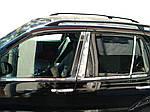 Mercedes ML W163 Молдинги дверних стійок (6 шт, нерж.)
