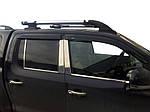 Volkswagen Amarok Оригінальні рейлінги хром (з поперечками)
