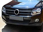 Volkswagen Amarok Накладки на фари протитуманні (2 шт., нерж)