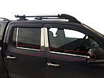 Volkswagen Amarok Окантовка вікон (4 смужки, нерж)