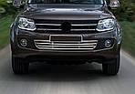 Volkswagen Amarok Грати в бампер (нерж)