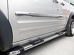 Ford Connect 2010-2014 рр. Молдинги на двері (4 шт., нерж.) Довга, Carmos - Турецька сталь