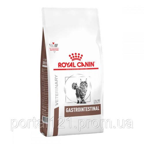 Сухой корм Royal Canin Gastro Intestinal при нарушениях пищеварения у кошек, 400 г