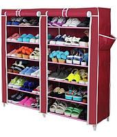 Тканевый шкаф для хранения обуви Shoe Cabinet 2712