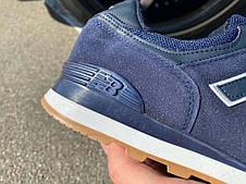 Кроссовки New Balance 574 Blue/Blue, фото 2