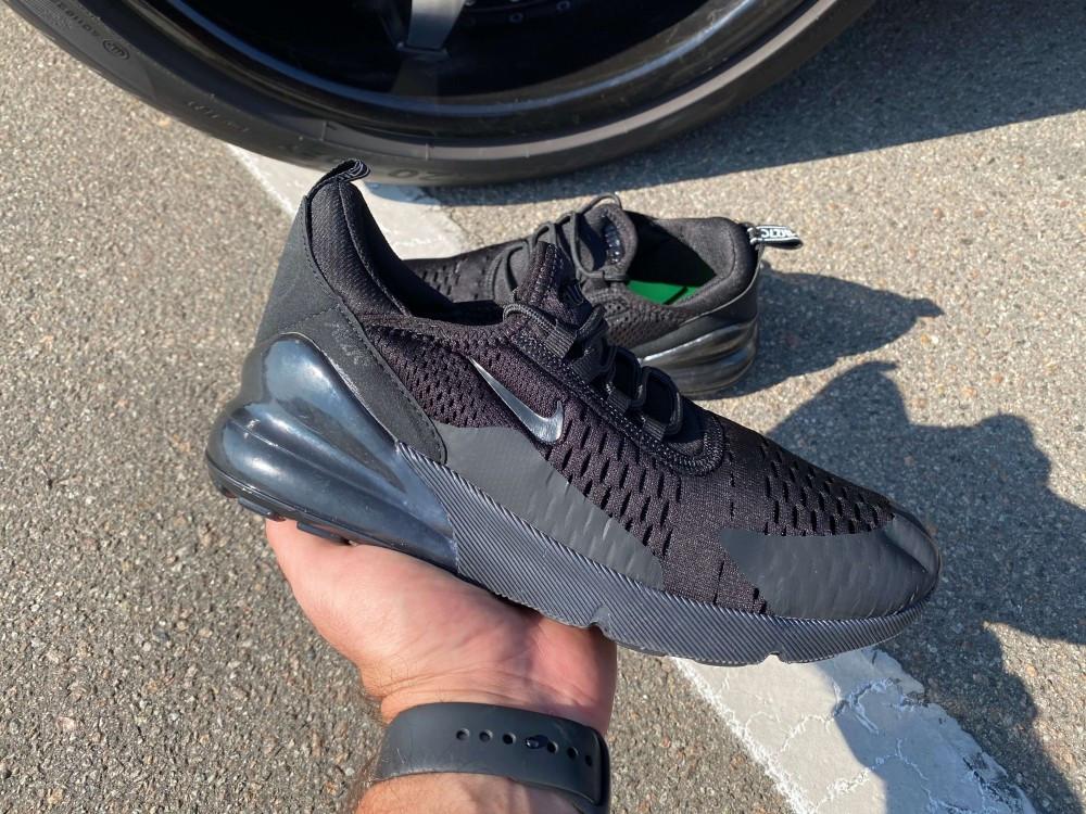 Кроссовки Nike Air 270 Black/Black