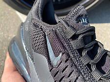 Кроссовки Nike Air 270 Black/Black, фото 2