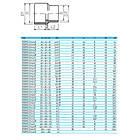 Effast Муфта - втулка переходная ПВХ Effast d90x110x75 мм, фото 2
