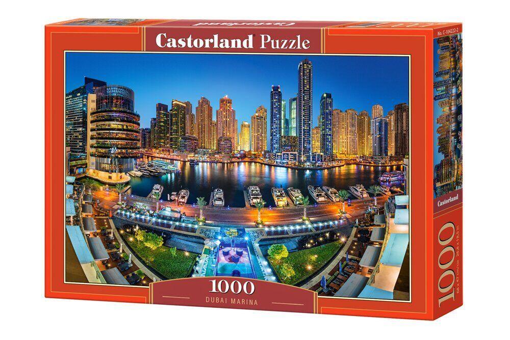 """Игрушка-Пазл Castorland """"1000"""" """"Район Марина. Дубаи"""" (С-104222)"""