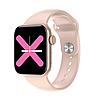 Умные часы Linwear LW15 с пульсоксиметром и тонометром (Розовый)