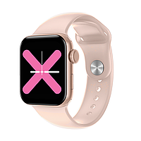 Умные часы Linwear LW15 с пульсоксиметром и тонометром (Розовый), фото 1