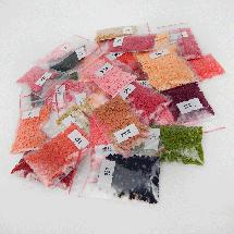 TWD10057 Набор алмазной вышивки Натюрморт с маками и сливами, 30х40 см, фото 2
