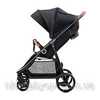 Прогулянкова коляска Kinderkraft Grande Black, фото 2