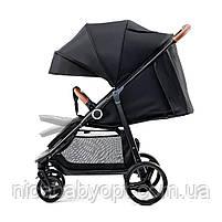 Прогулянкова коляска Kinderkraft Grande Black, фото 4