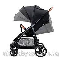 Прогулянкова коляска Kinderkraft Grande Black, фото 5