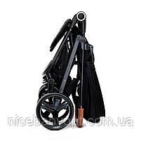 Прогулянкова коляска Kinderkraft Grande Black, фото 6