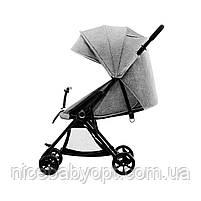 Прогулочная коляска Kinderkraft Lite Up Gray (KKWLITUGRY0000), фото 5