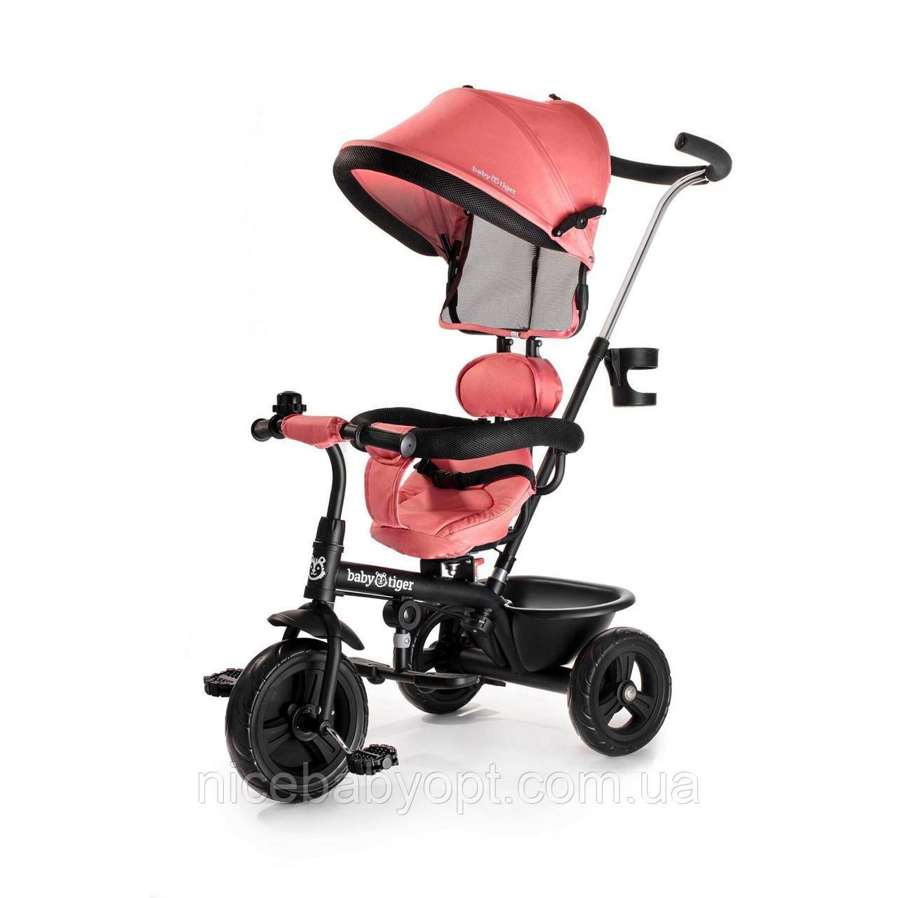 Триколісний велосипед Babytiger Fly Coral (BTRFLYCRL00000)