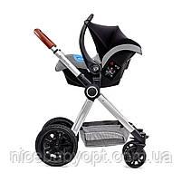Универсальная коляска 3 в 1 Kinderkraft Veo Gray (KKWVEOGRY30000), фото 4