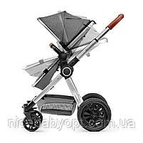 Универсальная коляска 3 в 1 Kinderkraft Veo Gray (KKWVEOGRY30000), фото 6
