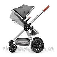 Универсальная коляска 3 в 1 Kinderkraft Veo Gray (KKWVEOGRY30000), фото 7