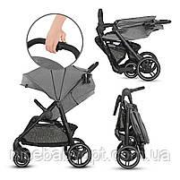 Прогулянкова коляска Kinderkraft Grande City Grey (KKWGCITGRY0000), фото 5