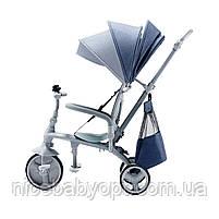 Трехколесный велосипед Kinderkraft Jazz Denim (KKRJAZZDEN0000), фото 8