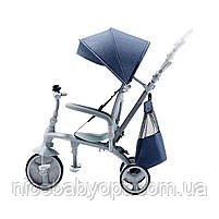 Трехколесный велосипед Kinderkraft Jazz Denim (KKRJAZZDEN0000), фото 9
