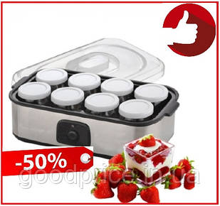 Йогуртница домашняя A-PLUS 8 баночек чаш 20 Вт для изготовления домашнего йогурта