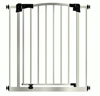 Дитячі ворота безпеки / бар'єр Maxigate для дверного отвору від 177 см до 186 см