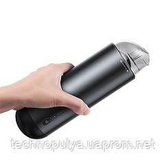 Автомобільний пилосос Baseus Capsule Cordless Vacuum Cleaner 65W CRXCQ01-01 Black (5260-15070a)