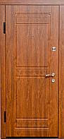 Дверь входная мдф/мдф Оптим-816 Дуб золотой 2050х960мм левая