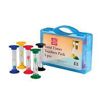 Набор песочных часов Edu-Toys для учителя, 5 шт. (GM194)