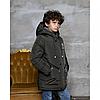 Детская зимняя куртка для мальчика на овчине 110-150, фото 5
