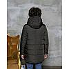 Детская зимняя куртка для мальчика на овчине 110-150, фото 6
