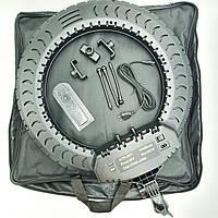 Кольцевая лампа 55см 55W на 3 держателя для телефона 3 режима свечения сумка пульт  LED кольцевой свет, фото 1